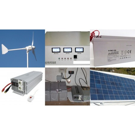 KIT HIBRIDO HOME PRESIDENT 2500W + 400W